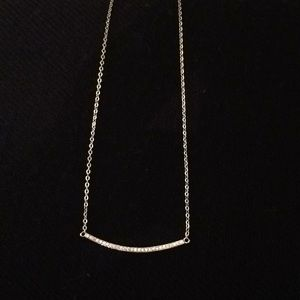 Jewelry - Curved Bar Necklace